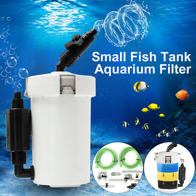 Aquarium External Canister Filter Aqua Water Fish Tank Sponge Pond Media SOLOOP