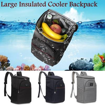 20L Large Insulated Cooling Backpack Picnic Camping Rucksack Beach Ice Bag UK