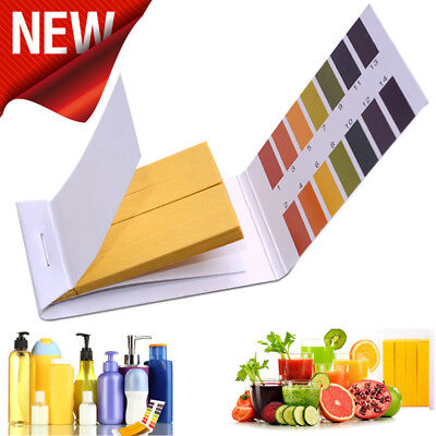 PH Test Strips Indicator Litmus Paper Soilsting Tester Lab Tools Alkaline Acid H