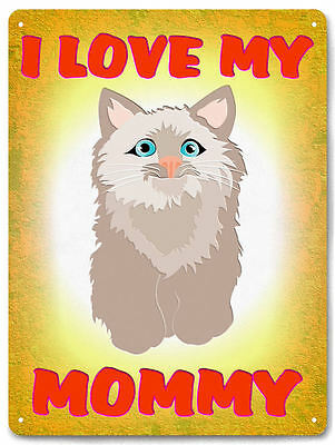 CAT house METAL SIGN cats lover funny CUTE vintage style room decor wall 634