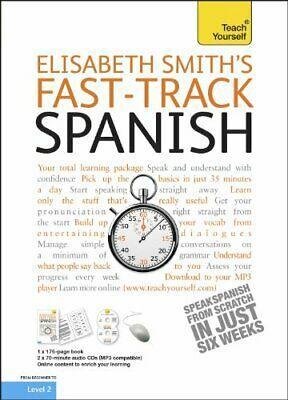 Fast-track Spanish: Teach Yourself (B... by Smith, Elisabeth Mixed media product