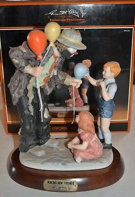Emmett Kelly Jr. Making New Friends Limited Edition 2572 Of 9500