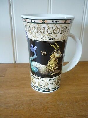 DUNOON SIGN OF THE ZODIAC ~CAPRICORN~ MUG~ Jack Dadd Design~