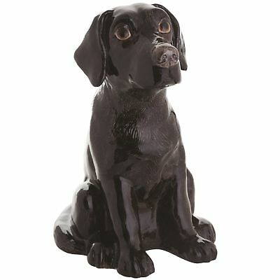 John Beswick JBMBA8 Labrador Black Dog Money Bank