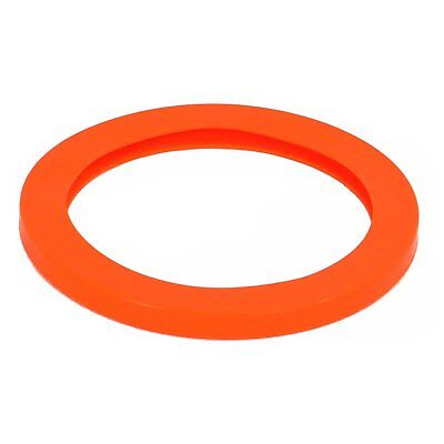 "Best Value Vacs- 8"" Orange Silicone Replacement Vacuum Chamber Gasket"