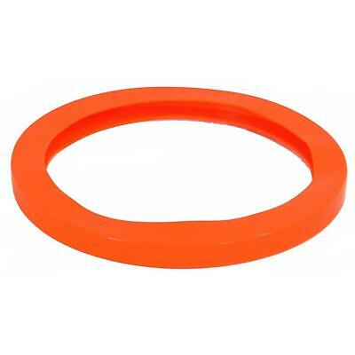 "Best Value Vacs- 10.75"" Orange Silicone Replacement Vacuum Chamber Gasket"