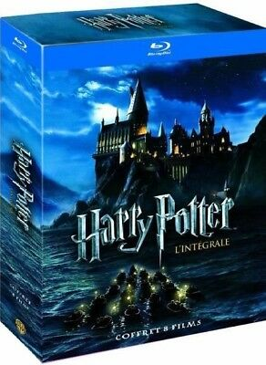 Coffret Blu-Ray : HARRY POTTER - L'Intégrale [ 8 Films Blu-ray ] NEUF cellopané