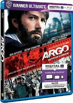 Blu Ray + UV  //  ARGO  //  B. Affleck - A. Arkin - J. Goodman / NEUF cellophané