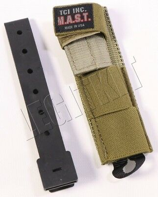 NEW TCI MAST Modular Antenna System Tactical Relocation Pouch MBITR Radio SOCOM