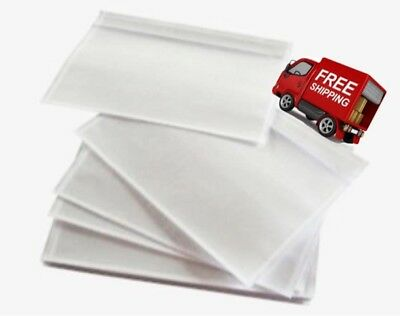 "1000 7.5""x5.5"" Clear Packing List Envelopes/Plain Face/Back Load-Free Shipping"