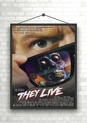 They Live Horror Classic Movie Poster Art Print A0 A1 A2 A3 A4 Maxi