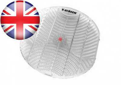 Vectair Systems BCV163-RD V Urinal Screen, Red Apple Orchard, Transparent...