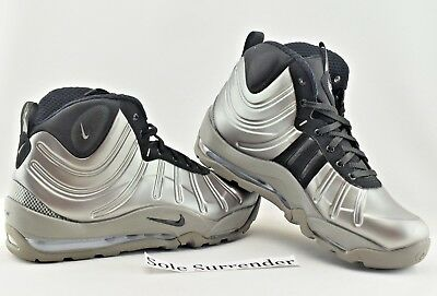 Nike Air Bakin Posite -CHOOSE SIZE- 618056-002 Pewter Grey Black Foamposite  Gray 0366cbc62