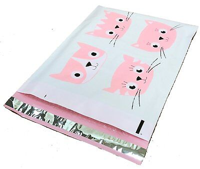 10x13 Cats Designer Poly Mailers Plastic Envelopes Shipping Bags #SmileMail®