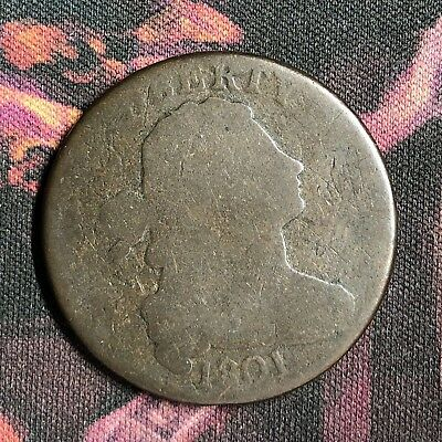 1801 Draped Bust Large Cent S-223