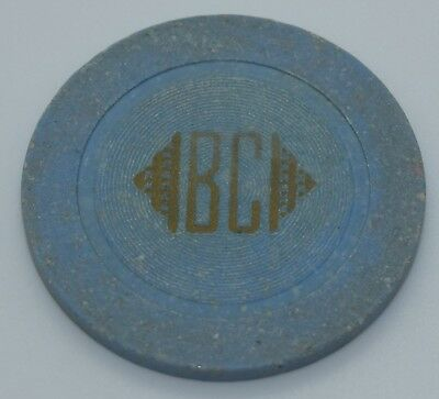 BC Card Room Casino Blue Chip LgSmCir Mold Made by Frank Walters Co.