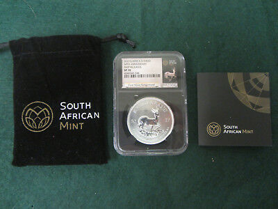 2017 S. Africa S1Rand 50Th Anniversary First Releases Ngc Sp 70 Retro Black