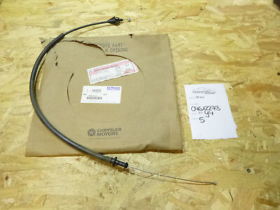 Chrysler Voyager GS 3.3 3.8 Gaszug Speed Cable control Mopar 04612273 NEU NOS