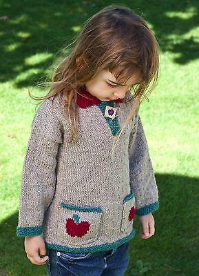 Knitting Pattern -Toddler/girls Kaftan Jumper (Age 2, 4, 6, 8 & 10 yrs) P0183