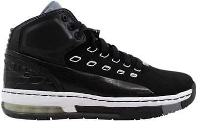 949998d520ea30 NIKE AIR JORDAN Ol School Black White-Cool Grey 317223-013 Men s SZ ...