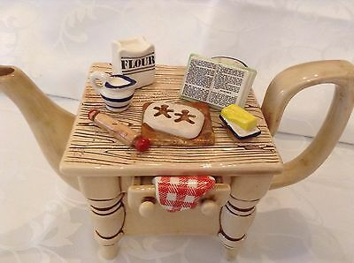 Early Cardew Collectable Novelty Gingerbread Pastry Table Teapot Great Condtion
