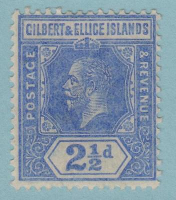 Gilbert & Ellice Islands 17 Mint Hinged Og * No Faults Very Fine !