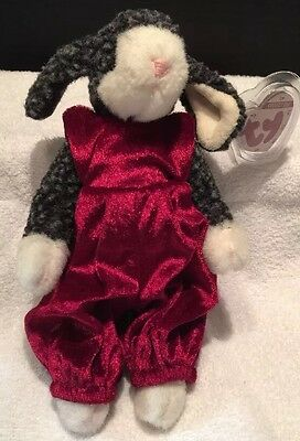 Ty Collectible Lilly the Lamb 1993 Ty Beanie Baby Style 6037 ~RETIRED~ With  TAGS a1573380ecf0