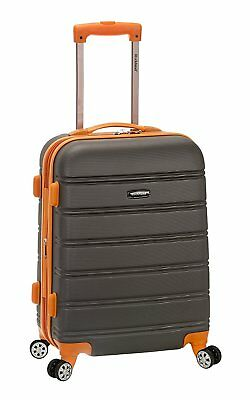 20 Inch Hardside Spinner Luggage Suitcase Aluminum telescoping handle carry on
