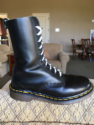 90's Vintage Dr Martens 10-eye boots US 5 doc 1490 1914 womens shoes airwair uk3