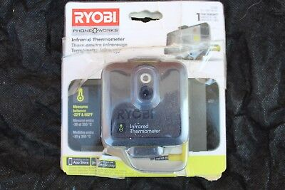 Ryobi Infared Thermometer New in Package works with any Smart Phone