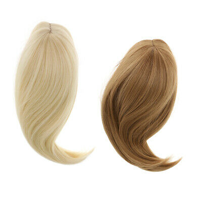 2 Pieces 28cm Hair Doll Wig for 18'' American Girl Dolls DIY Making Accss