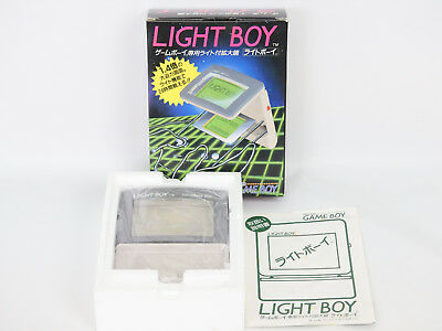 Nintendo Game Boy LIGHT BOY Boxed Ref/1547 JUNK Not working JAPAN gb