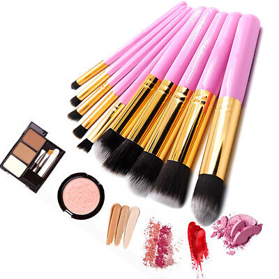 7pcs Crystal Makeup Brushes Set Cosmetic Eyeshadow Powder Foundation Brush tool