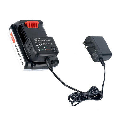 LCS1620 Charger 20V Lithium Battery Charger for Black&Decker LBX20 LBX4020 Part