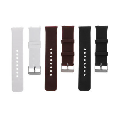 Silicone Wrist Band Strap Metal Buckle Bracelet For DZ09 Smart Watch Replacement
