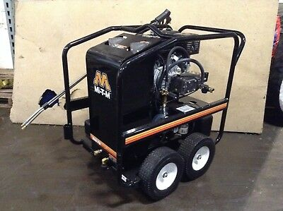 Mi-T-M HSP3504-3MGH Hot Water Pressure Washer Honda Gas Power Portable USED