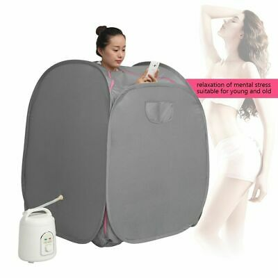 1.8L/2L Steam Sauna Spa Home Tent Pot Machine Body Slimming Weight Loss Therapy