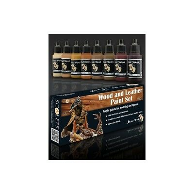 Scale75 Acrylic Paints Set - Wood and Leather (8 x 17ml)