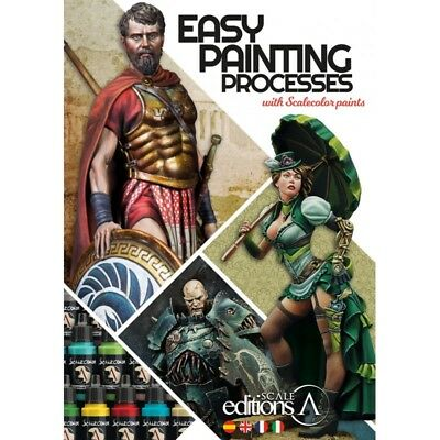 Scale75 Easy Painting Processes with Scalecolor's Paints (English, 144pages, A4)