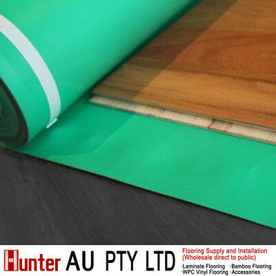 2mm green foam acoustic underlay for floating floors-insulation