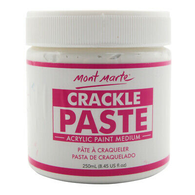 Mont Marte Acrylic Medium - Crackle Paste 250ml