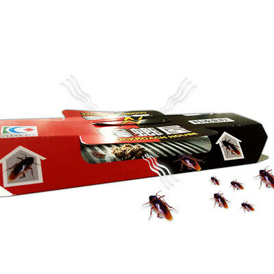 10pc Roach House Glue Traps Control for Cockroach Pest Insect Ants Spider Useful