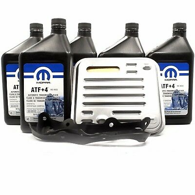 Automatic Transmission Service Filter Kit Mopar Atf+4 5L Chrysler Voyager 90-07