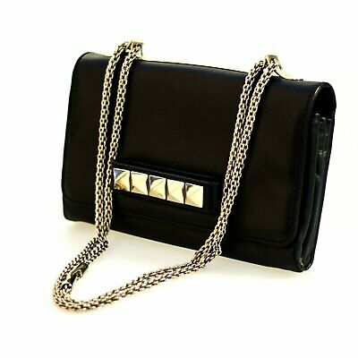 5d64627603d AUTHENTIC VALENTINO ROCKSTUD Va Va Voom Leather Shoulder Bag ...