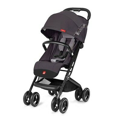 Goodbaby GB Qbit+ Stroller - Silver Fox Grey/ Satin Black