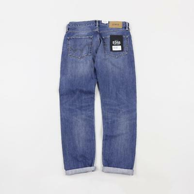 55 Edwin Japan Oz Ed Regular Casual 12 Mens Tapered Jeans Denim arXwxqrB