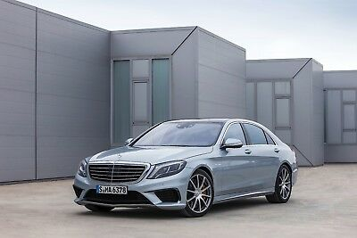 NEW BodyKit Mercedes Benz W222 S-Class  S63 AMG look front bumper side skirts