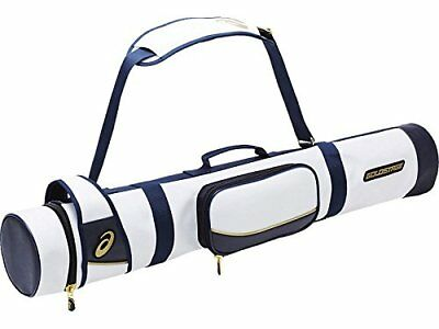 Asics Gold stage Baseball bat case for 3 BEB 170 050 White / Navy F New