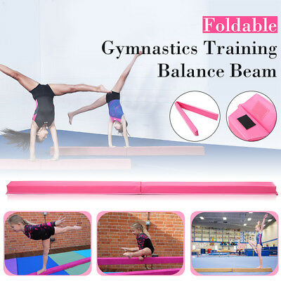 Foldable Gymnastics Floor gym Balance Beam Skill Performance Training Equipment