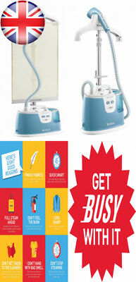 Tefal IS8360 Instant Control Upright Garment Steamer, 1700 Watt, Turquoise